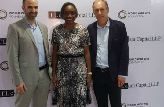 Sir Tim Berners-Lee celebrates 30th anniversary of the web in Nigeria