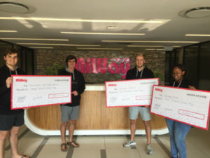 North-West University students take top-prize at 2019 MiWay 24-hour Hackathon