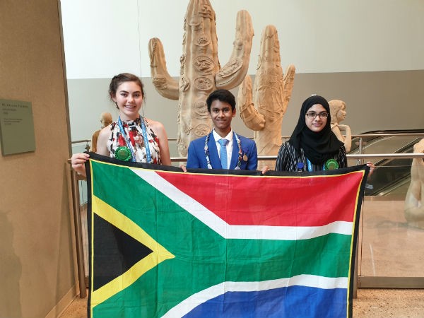 South African young scientists shine at US Intel International Science Fair