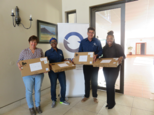 Networks Unlimited Africa donates new laptops to Literacy for Life