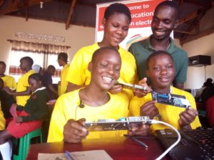 TME Education launches an Electronics Lab in Mityana, Uganda