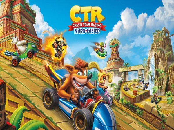 Crash Team Racing Nitro-Fueled cover