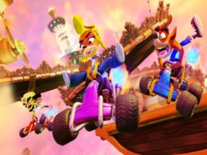 Crash Team Racing Nitro-Fueled will feature iconic characters from the Crash Bandicoot franchise