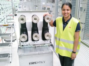 Davina Ramadhin, Engineer-in-training at Norconsult Iyanda.