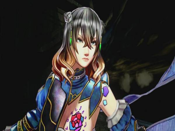 Miriam, the protagonist of Bloodstained: Ritual of the Night