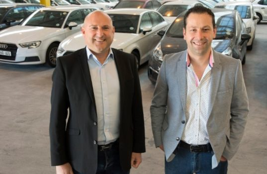 William Miller (left) and Renaldo de Jager (right), co-founders of auction.co.za