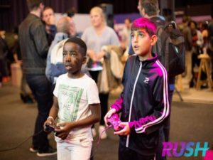 Rush is open to all ages