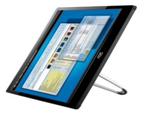 The E1659FWU is one of the three new monitors being released in the Middle East by AOC.