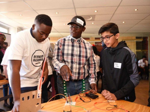 STEM Hackathon prepares South African youth for 4th Industrial Revolution economy