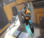 Baptiste, the newest hero added to Overwatch. Image sourced from Overwatch.