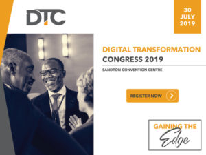 The Digital Transformation Congress will take place on 30 July 2019.
