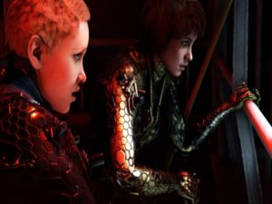 Soph (left) and Jess (right), the two main protagonists in Wolfenstein: Youngblood. Image sourced from Bethesda.