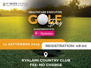 Who should attend the Healthcare Executive Golf Day
