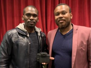 Luyanda Vappie (left) and Motsholane Sebola (right), Founders of Root Tech and creators of Prism.