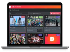 Dazzl.tv is a video streaming platform that allows users to manage their own live events across different social media platforms and websites.