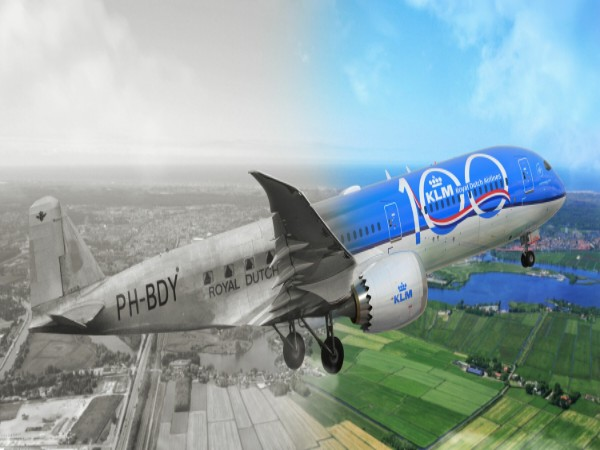 KLM will celebrate its centenary in October 2019.