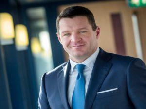 KLM CEO Pieter Elbers.