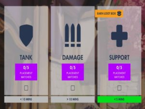 The Role Queue update is currently in testing on the PC and will enter a public beta mode from 13 August to 1 September. Image sourced from Overwatch.