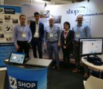 The Shoptech booth at NMW Australia 2019. Image sourced from Twitter.