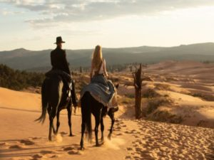 A still image from the Season 2 finale of HBO exclusive show Westworld. Westworld is set to release its 3rd season in 2020 and the show will be available on HBO Max. Image sourced from Twitter.