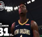 A screenshot of Zion Williamson and his over-all rating in NBA 2K20. Image sourced from Twitter.