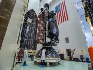 The AMOS-17 will be utilized by Nigeria-based broadcaster IDS Africa. The AMOS-17 is currently scheduled for launch in August 2019. Image sourced from Twitter.