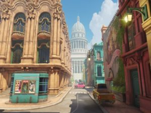 Havana, the newest map added to Overwatch. Image sourced from Overwatch.