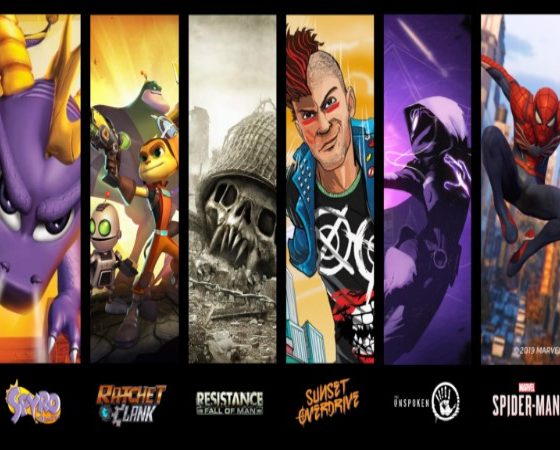 An image of some of the games that Insomniac Games has developed. The developer becomes the latest addition to SIE's Worldwide Studios. Image sourced from Insomniac Games.