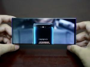 OPPO showcases new mobile phone design