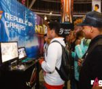 Gamers at the ASUS booth during rAge 2018. Image sourced from rAge.