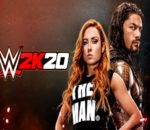 WWE 2K20 cover stars Becky Lynch (left) and Roman Reigns (right). Image sourced from WWE 2K.