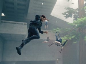 Jesse uses her Levitate to get close to an enemy. Image sourced from Twitter.