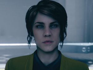 Jesse Faden, the protagonist of Control. Image sourced from Twitter.