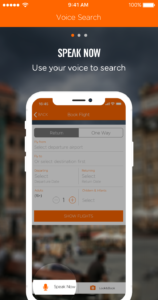 easyJet adds new voice search app feature