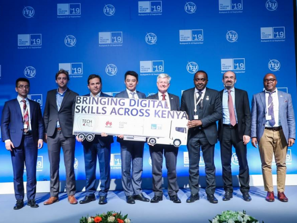 Huawei unveils socio-economic development project for Kenya