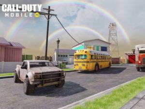Nuketown, the map from the Call of Duty: Black Ops series, will be featured in Call of Duty: Mobile. Image sourced from Call of Duty: Mobile.