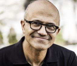 Satya Nadella, CEO of Microsoft. Image sourced from Microsoft.