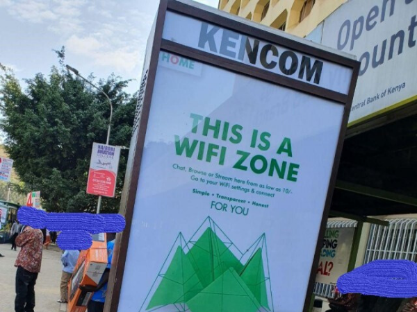 Chargeable WiFi Zones spotted in Nairobi