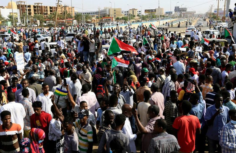"""""""Severe"""" Internet Shutdown in Sudan as the Military Violently Seize Power"""